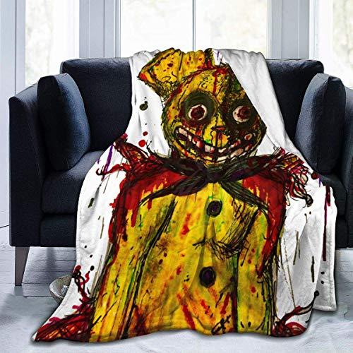 Lucky Home FNAF Five Nights at Freddy's Flannel Blanket Bedroom King Size Fleece Blanket