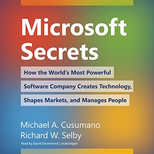Microsoft Secrets  By  cover art