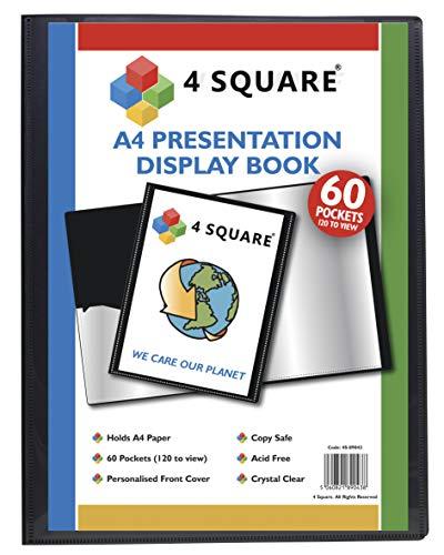 4 Square 89043 Sichtbuch mit 60 Hüllen...
