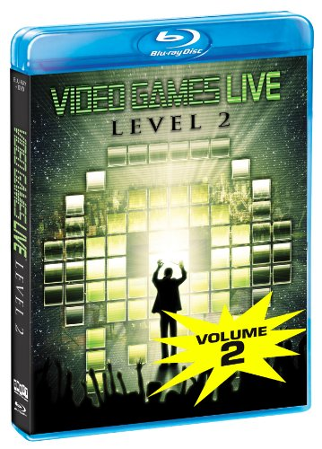 Video Games Live: Level 2 BluRay  DVD Combo