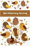 Bird Watching Journal For Kids: Cute Birds Children Record Notebook Bird Watching Log Book Nature Learning Hobby Journal (Birdwatching Lovers) (Volume 3)