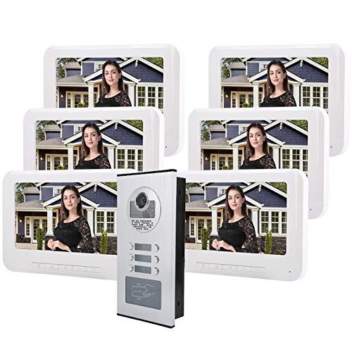 7in 1000TVL HD Video Doorbell Smart Intercom Doorbell IR-CUT Camera (100V-240V)