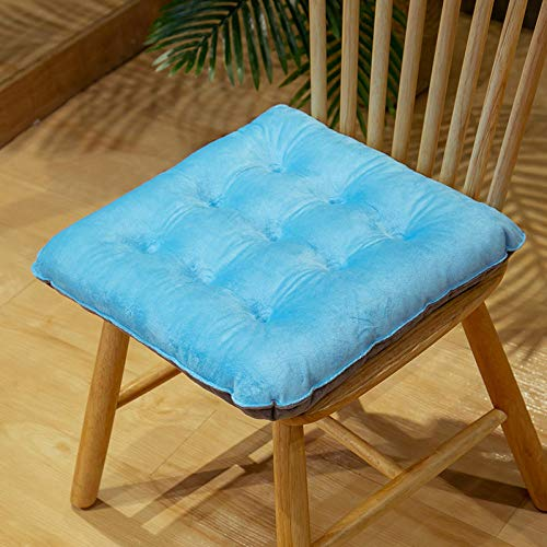 Booster Cushions,Color Matching Crystal Velvet Chair Cushion-D_40*40cm