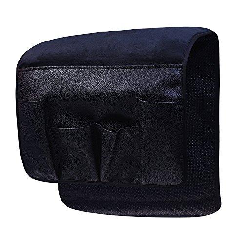 Vimmor Sofa Couch Stuhl Armlehne Organizer Halterung mit Samt Rutschfest Silikon für Fernbedienung, Handys, Bücher, Zeitschriften und Bleistift