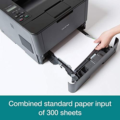 Brother HL-L5000D A4 monochrom Laserdrucker (Drucken, 1.200 x 1.200 dpi, USB, Print AirBag für 200.000 Seiten, 40 Seiten/Min.)