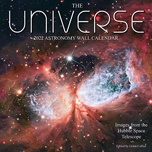"""The Universe 2022 Astronomy Wall Calendar: Images from NASA's Hubble Space Telescope (12""""x12"""")"""