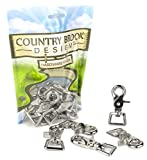 10 - Country Brook Design - 3/4 Inch Trigger Swivel Snap Hooks