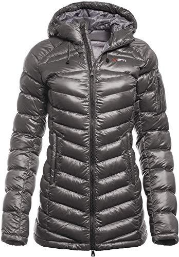 YETI Aprica W's Down Coat Damen Daunenjacke Jacke, Smoke, Größe S