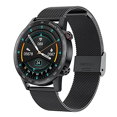ZGZYL AK25 Hombre Smart Watch Bluetooth Call Reproductor De Música con Ritmo Cardíaco Y Reloj De Presión Arterial Rastreador De Fitness Fitness Watch Step Calorie Waterpp Sports Watch,C
