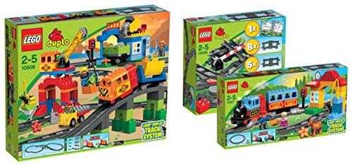 LEGO DUPLO Mega-Eisenbahnset 10506 + 10507 + 10508