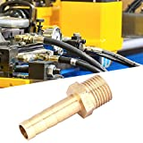 Conector de lengüeta, 5 piezas de accesorios de tubería, fundición de una pieza para un buen sellado de gas líquido fácil de instalar(6mm)