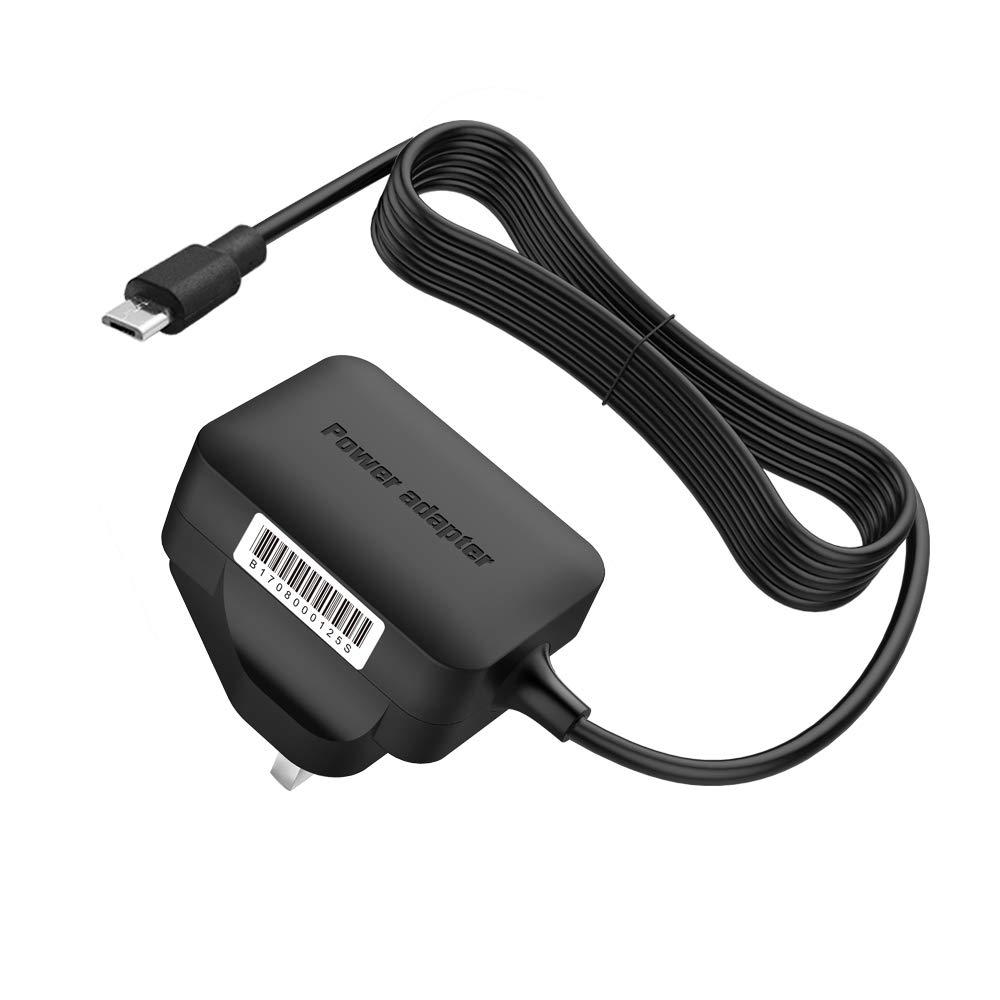 2m USB Black Cable for Motorola MBP853CONNECT Parent/'s Unit Baby Monitor
