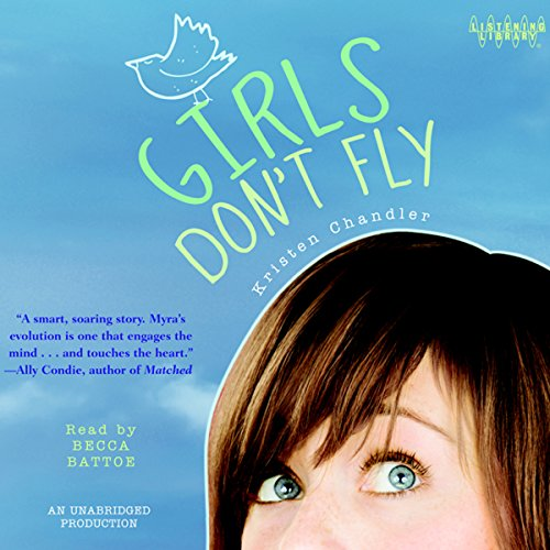 Girls Don't Fly audiobook cover art