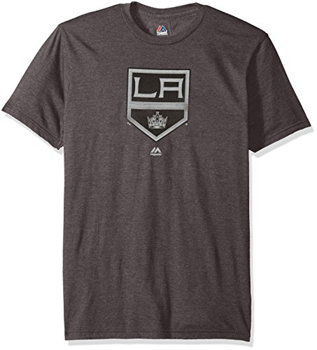 NHL T-Shirt Los Angeles Kings LA L.A. Raise The Level Heathered Eishockey Shirt (XXL)