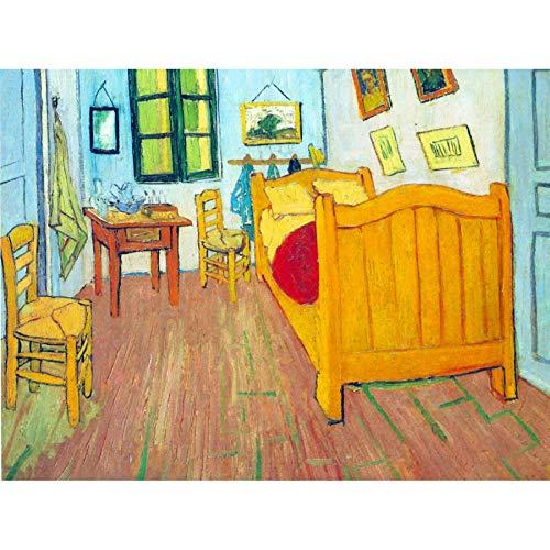Wee Blue Coo Van Gogh Bedroom in Arles Unframed Art Print Poster Wall Decor 12x16 inch Camera da Letto Manifesto Parete