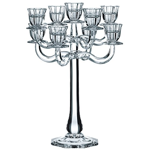 Spiegelau & Nachtmann, Leuchter 9-armig, Kristallglas, Höhe: 41 cm, Ravello, 0068662-0