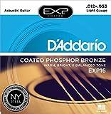D'Addario EXP16 Coated Phosphor Bronze Acoustic Guitar Strings,...