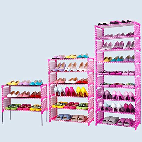 YUNXIAOHONG Simple Shoe Cabinet - Oxford Cloth Storage Shoe Rack