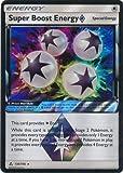 Super Boost Energy 136/156 Prisma Star Card (Pokemon Sun & Moon Ultra Prism)