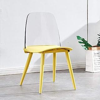 QFWM Sillas de Comedor Sillas de café y sillas de Comedor for Casual Home Living y comedores Cocina Comedor Muebles (Color : Four, Size : 51x44x80cm)
