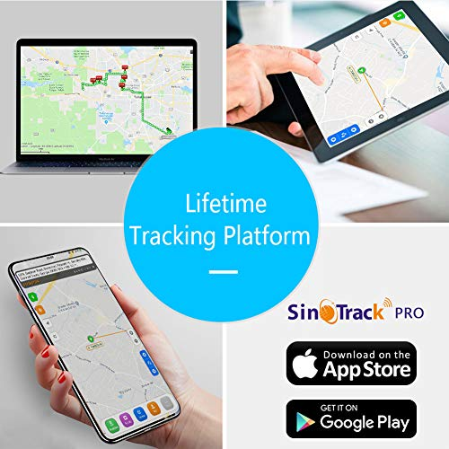 Taxi and Truck SinoTrack GPS Tracker No Monthly Fee Real-Time OBD Car GPS Tracking Device Locator Support Free Platform Lifetime Mini OBD II Vehicle Tracker with Alert System for Car