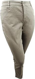 Style & Co. Womens Plus Denim Tummy Control Skinny Jeans