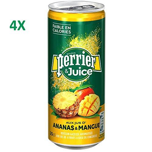 Perrier&Juice Ananas-Mango (4x25cl Dosen)