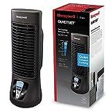 Ventilador Honeywell QuietSet (oscilante, personal, ventilador de minitorre, funcionamiento silencioso) HTF210BE