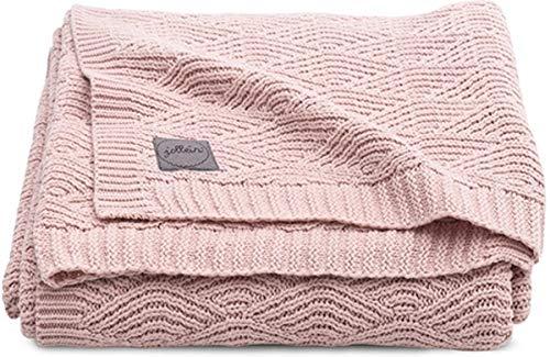 Jollein 516-522-65286 Kinder-Decke Strick Knit pale pink Gr. 100x150 cm