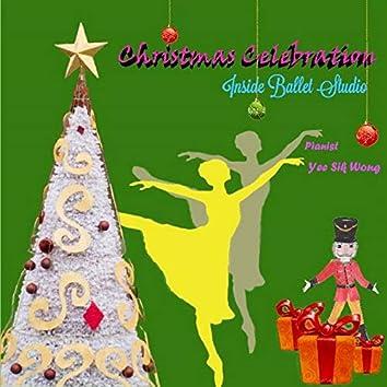 Inside Ballet Studio Christmas Celebration