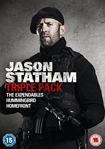 Jason Statham Triple Pack (The Expendables/Hummingbird/Homefront) [DVD] [2015] by Sylvester Stallone