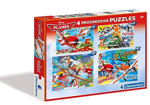 Clementoni 7706 Disney Planes Puzzles 4 En 1