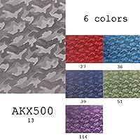 生地 1m単位カット対応 キュプラ100%ジャカード裏地 EXCYオリジナル迷彩柄 6色展開 AKX500