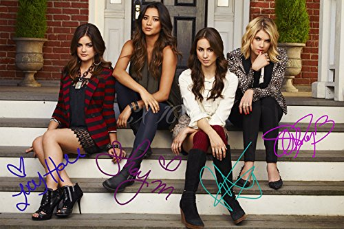 Pretty Little Liars Autogramm-Photo, Print 1, hochwertig, A4, 30,5 x 20,3 cm