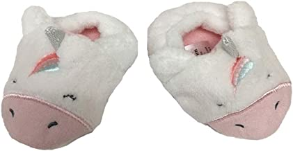Child of Mine by Carters Unicorn Newborn Baby Slip-On Infant Prewalker House Shoes Crib Soft Sole Slippers