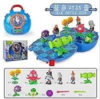 2021新しい植物対ゾンビアクションフィギュア置物モデル脳ゲームおもちゃ子供の学校バッグバトルチェスプレイハウスおもちゃ