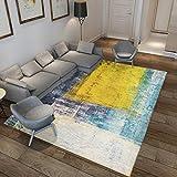 DHKJ Tapis de Sol Simple pour Salle d'étude, Table Basse, Tapis de Sol pour Chambre à Coucher en Fibre de Polyester (Polyester) 180 x 250 cm