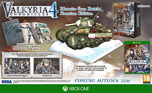 Valkyria Chronicles 4 - Collector's Edition- Xbox One