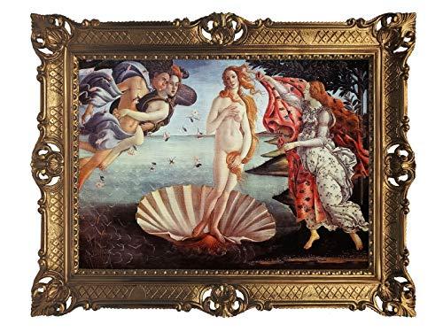 Lnxp Cuadro barroco * El nacimiento de Venus * Cuadro de Sandro Botticelli 90 x 70 cm