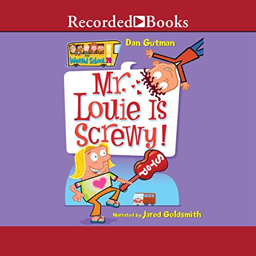 Mr. Louie Is Screwy! audiobook cover art