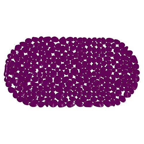 MSV 140966 Galets Tapis à Baignoire Violet