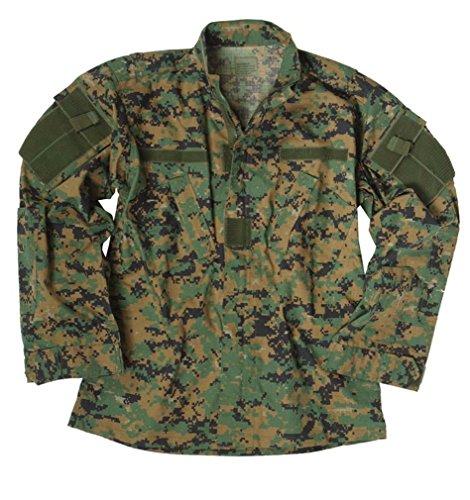 Teesar ACU Ripstop Combate Camisa Digital Woodland tamaño M