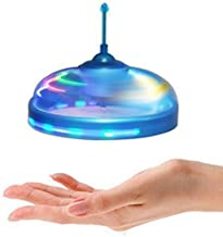 Alotm UFO Flying Disc - Mini Infrared Sensor Flying Saucer Hand Induced Hovering and Floating Flight Hand Movements Toy Magic Trick Toys,