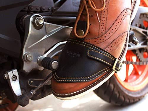 Trip Machine Company Leather Shoe Protector/Guard/Cover/Wrap Black