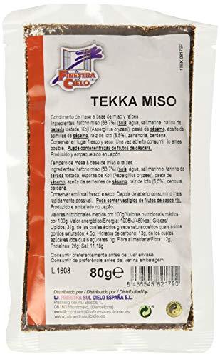 Tekka (condimento de miso y raíces) - La Finestra Sul Cielo - 80g - alimentación...