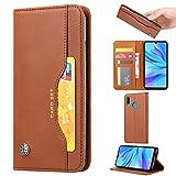 Phone Flip Case Étui portefeuille en cuir pour Huawei Honor 10i, pour Huawei P Smart + 2019 Housse...