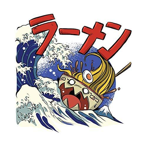 1PCs Cartoon Sea wave Seaside Scenery ship Stickers kids toys book Decorative sticker Car Guitar Refrigerator stickers