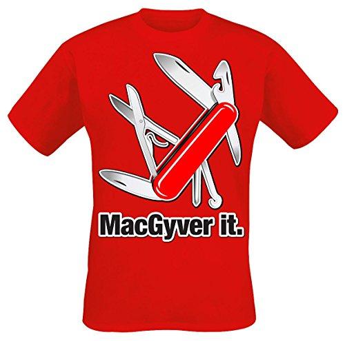 MacGyver MacGyver It T-Shirt rot XXL