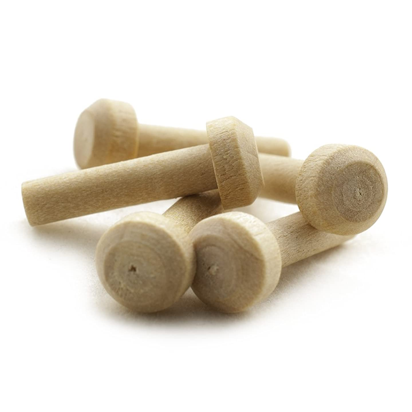 Wooden Axle Pegs for 3/16
