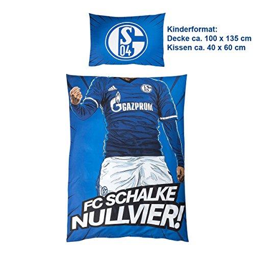 FC Schalke 04 Bettwäsche Hero Kids 100 x 135 cm